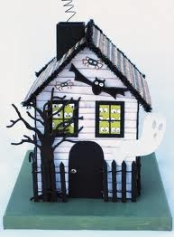 pattern for paper haunted house - Google Search