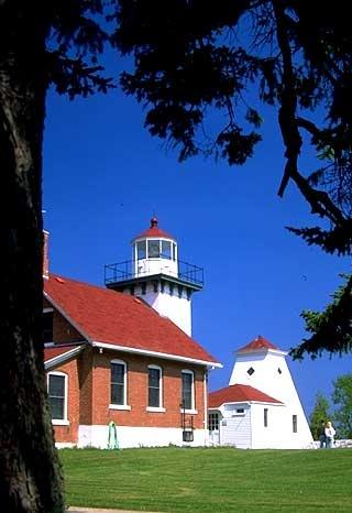 Sherwood Point Lighthouse  Sturgeon Bay, Wisconsin