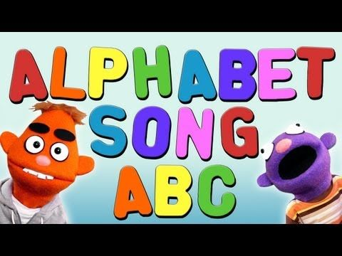 ALPHABET SONG (ABC Song and Video For Kids ♫)  Just to change it up from leapfrog's letter factory--that's still my fav