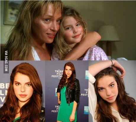 Puberty strikes again: Perla Haney-Jardine, Uma Thurman's Daughter in Kill Bill Vol.2 - http://geekstumbles.com/funny/puberty-strikes-again-perla-haney-jardine-uma-thurmans-daughter-in-kill-bill-vol-2/