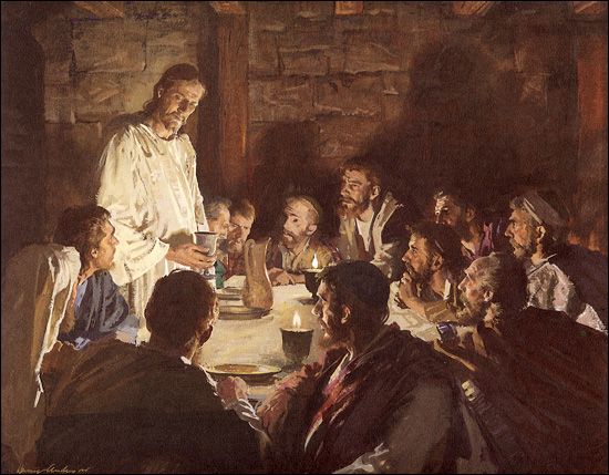 The Last Supper by Harry Anderson
