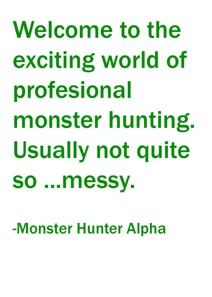 w monster hunter alpha larry correia