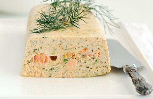 Terrina de salmón - Cocina - REVISTA PRONTO - www.pronto.com.ar