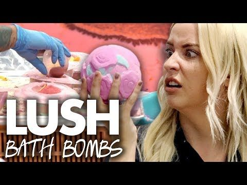 (1) Making BATH BOMBS at the LUSH Factory! (Beauty Trippin) - YouTube