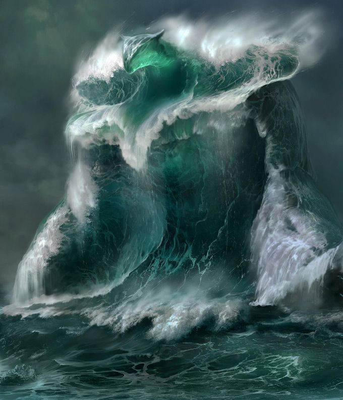 The storming seas are full of creatures. But only I can see them.