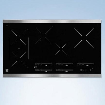 Kenmore Elite®/MD 36'' Induction Cooktop - Stainless Steel - Sears | Sears Canada