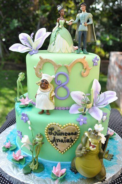 La principessa e il ranocchio cake