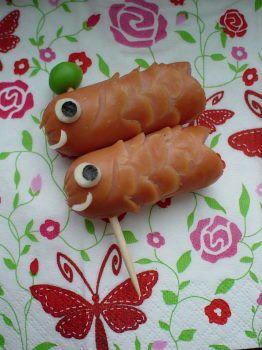 ウインナーで簡単♪こいのぼり・キャラ弁 (鯉のぼり・ソーセージ・魚)