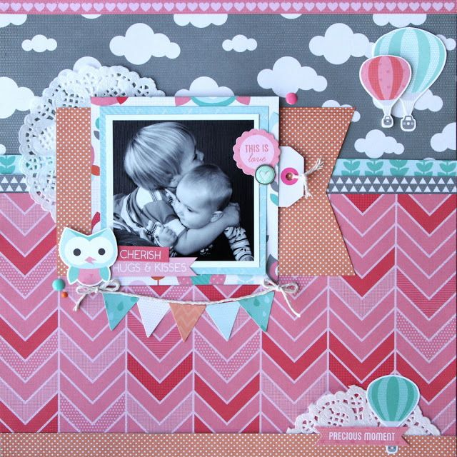 All About Scrapbooks - Kaisercraft Little One by Fiona Johnstone