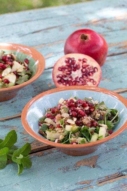 Marokkanischer Quinoa-Salat