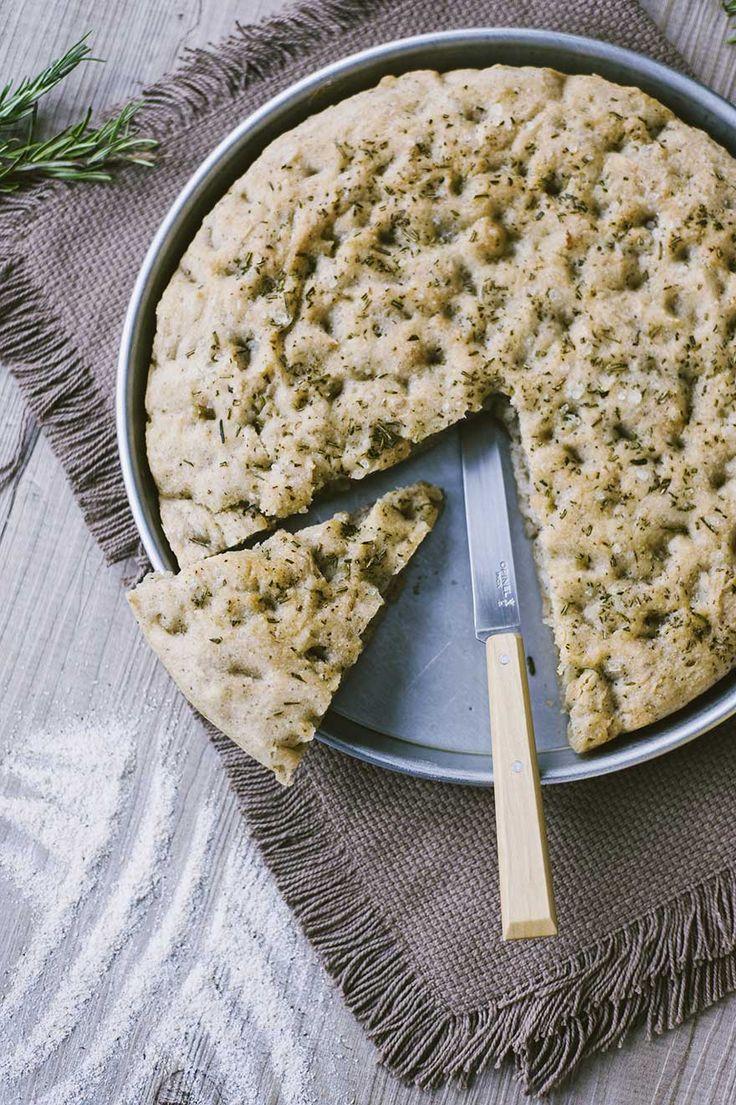 Focaccia senza glutine al grano saraceno