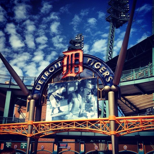 Detroit Tigers stadium CoPa