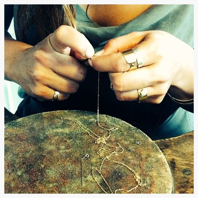 New Jewelry Designs in the making - 18 carat gold...