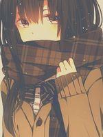 Anime Shoujo: Avatares Anime/Mangá/Vocaloid Colorido e Preto e Branco