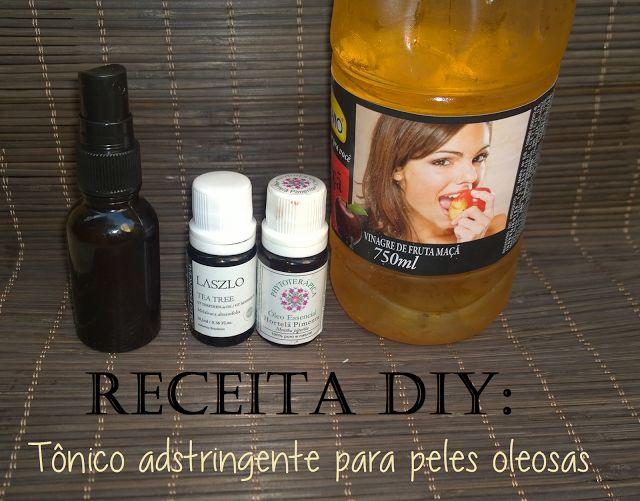 Beleza Vegana: Receita DIY: Tônico vegano caseiro para peles oleo...