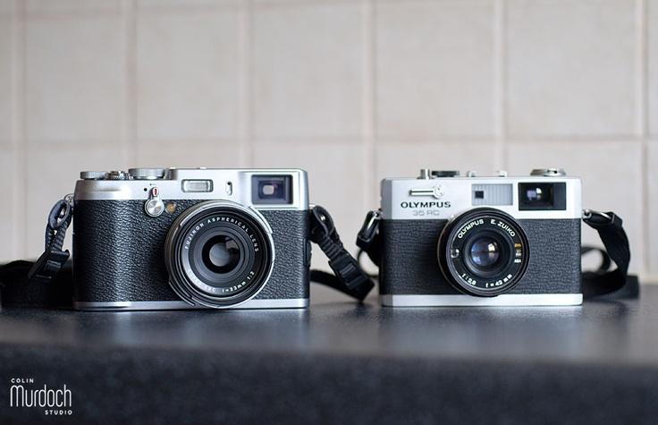 Fujifilm X100 vs Olympus 35 RC | Photography by www.colinmurdochstudio.com