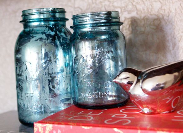 45 best images about all about the mason jars on pinterest for Best paint to use on glass jars
