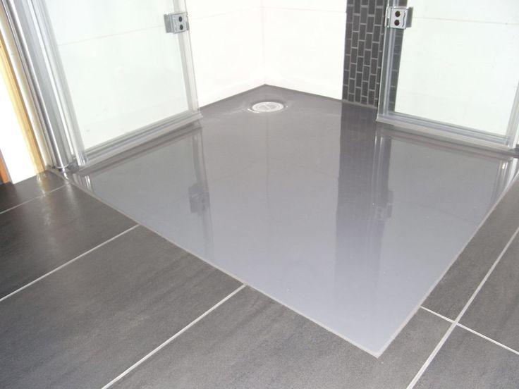 mineralguss duschwanne 120x80 rechteck weiss matt gl nzend brausew gu stein l in heimwerker. Black Bedroom Furniture Sets. Home Design Ideas