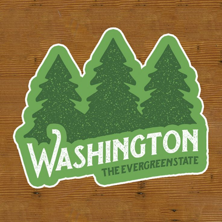 """From the butt-kicking trails in the Ho Rain forest to the rewarding views of Mt. Rainier, to the Green in the Seahawk's uniforms, Washington is truly the """"Evergreen State""""! • 4""""H x 5""""W • Durable weath"""