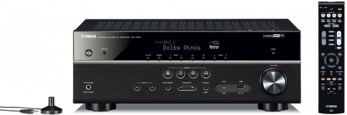 The Yamaha RXV583 is the new, powerful, 7.2 channel surround sound AV receiver that features MusicCast, Bluetooth and WiFi connectivity, opening up a wide range of listening options to the user. Virtual Cinema Front and Cinema 3D DSP technologies and 4K UHD support make for an absolutely stunning, high quality sound and visual experience.