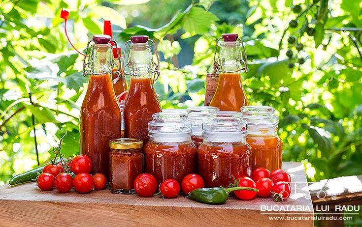 Daca te-ai saturat sa nu stii ce contine ketchupul din comert acum poti intoarce…