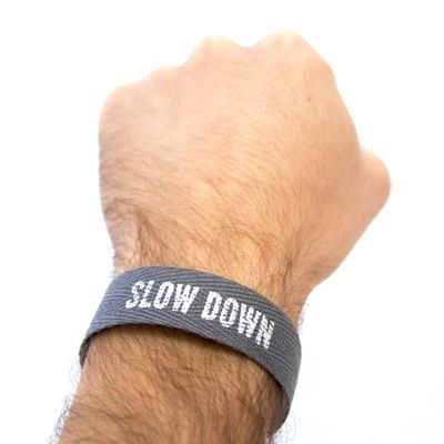 Slow Down Wristband – need to remember this for the next few months!: Idl Mouse, Slow Down, Favorite Things, Real Life, Www Idlemous Org, Wristband Idl, Bracelets, Antiques Metals, Mouse Slow