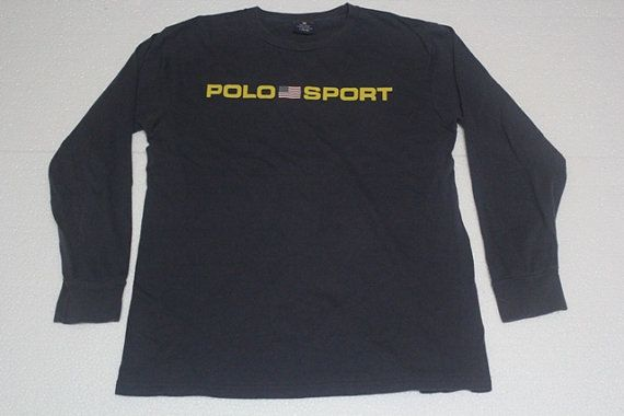 Vintage Polo Sport Ralph Lauren Chest Spell and Logo by VLovers, $29.90
