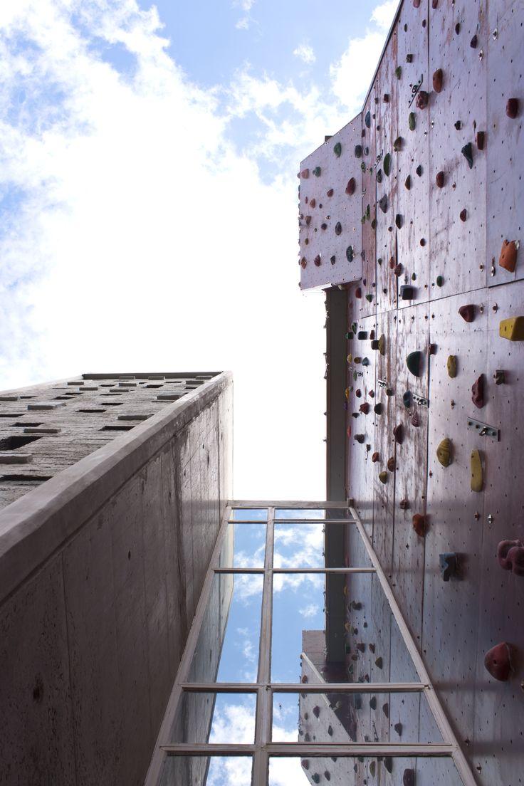 University of the Free State, Bloemfontein Campus, Climbing wall (Photo: Justus Liebenberg)