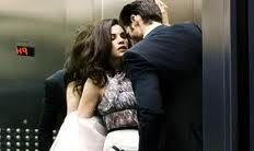 Definitely!! Maybe getting stuck in this elevator isn't so bad...