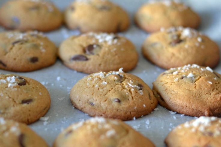 According to Katie SALTED CHOCOLATE CHIP COOKIES