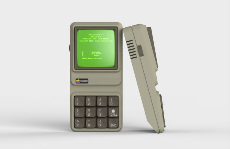 Apple IIe iPhone - Ivan Epling