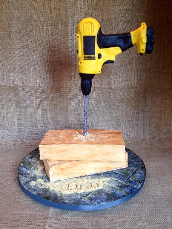 You have to see Gravity Defying Drill Cake by jjimart949216!