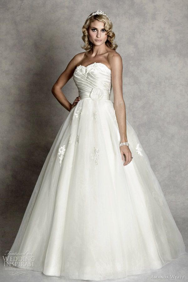http://weddinginspirasi.com/2012/02/08/amanda-wyatt-wedding-dresses-enchanted-bridal-collection/  hepburn #wedding dress 2012 by amanda wyatt  #weddings #weddingdress