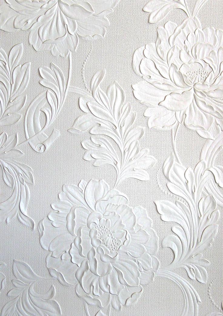 Best 25+ Embossed wallpaper ideas on Pinterest | Wallpaper dresser, Old dresser makeovers and ...