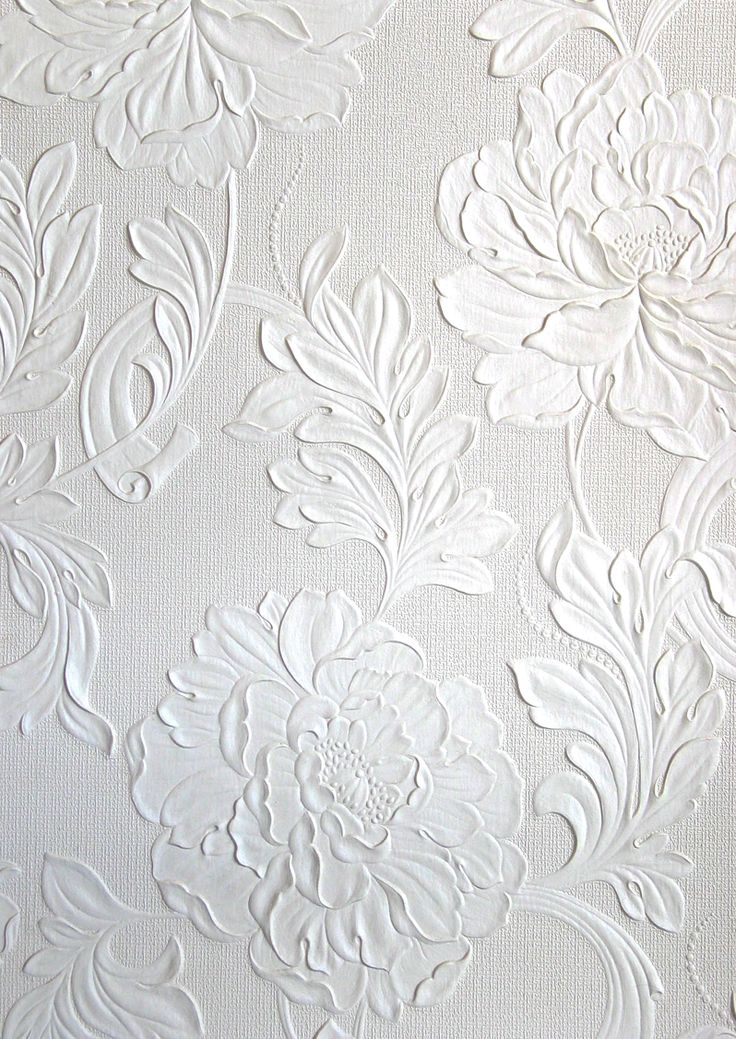 Embossed wallpaper borders antique modern style for Embossed wallpaper
