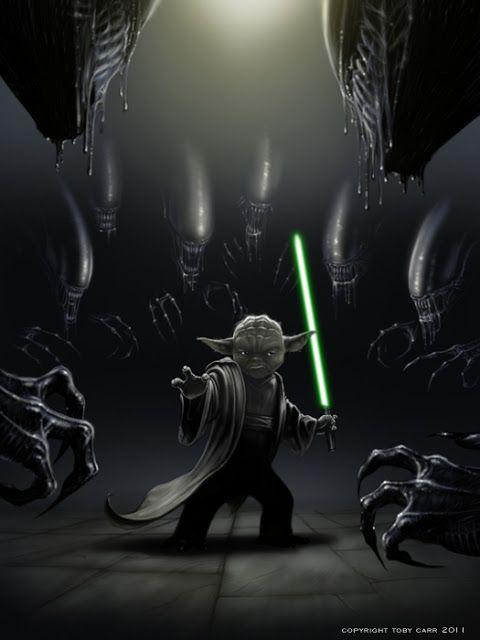 Tutano Mole: Star Wars vs Aliens