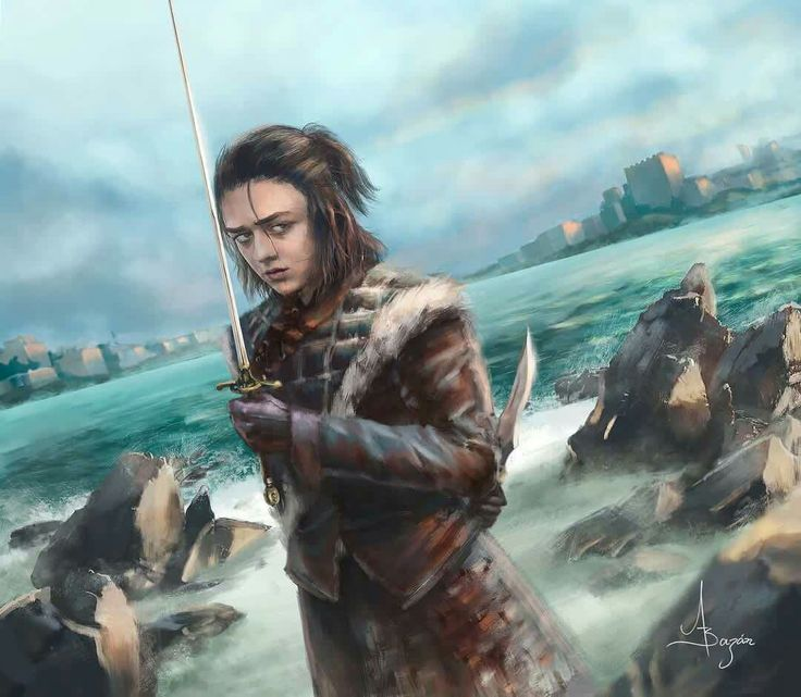 Arya Stark - The last dance A greeting, a look, and the last dance the prey will watch. One name less, and no one its on the way. Art by Andrés Bazán Like ✔Share #Arya_Stark #House_Stark #Winterfell #winteriscoming #Winter_is_here #Digital_art #the_north_remembers #nymeria #ghostofharrenhal #houseofblackandwhite #facelessmen #asoiaf #GoT