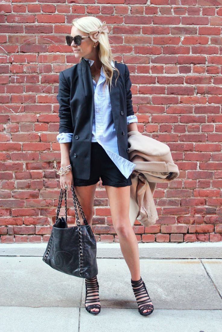 blazer and short