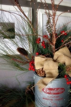 christmas decor by judysebesta
