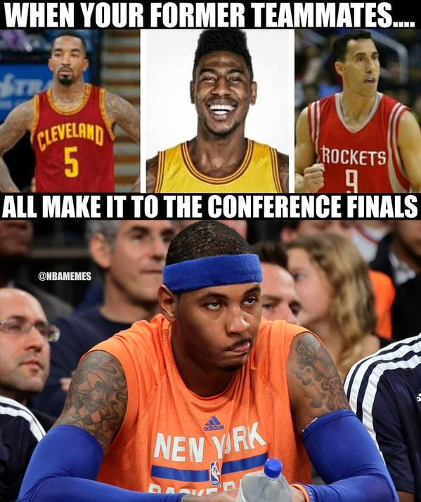 How Carmelo Anthony feels right now. - http://nbafunnymeme.com/nba-memes/how-carmelo-anthony-feels-right-now