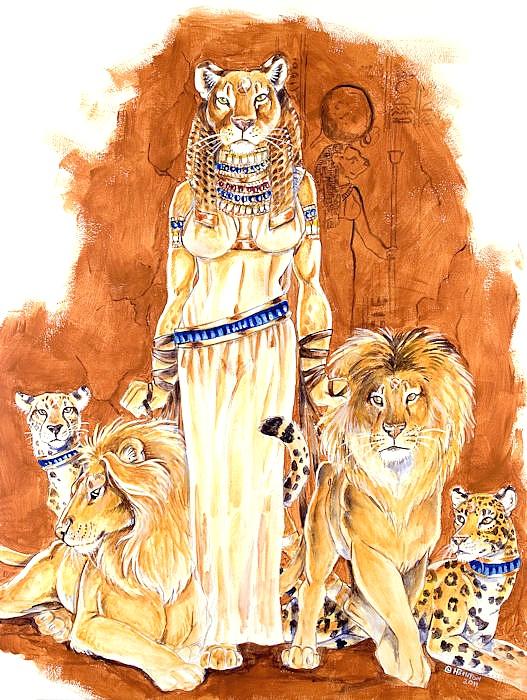 103 Best My Egyptian Goddesses Sekhmet And Bastet Images On