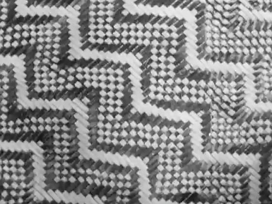 Weekly Review No. 280 - Patterns in Flax - This Weekly Review pays respect to the traditional Māori art of raranga (or weaving), and looks at the industrialisation of New Zealand flax (harakeke) processing. The episode features a factory in Foxton where Māori designs are incorporated into modern floor coverings. Patterns in Flax features some great footage of the harvesting and drying of flax plants, and shots of immense (now obsolete) flax farms.