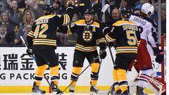 NHL: Blue Jackets 2 , Bruins 5