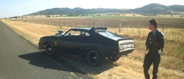 """Heavily modified 1973 Ford Falcon XB GT from """"Mad Max""""    Where It's From: Mad Max"""