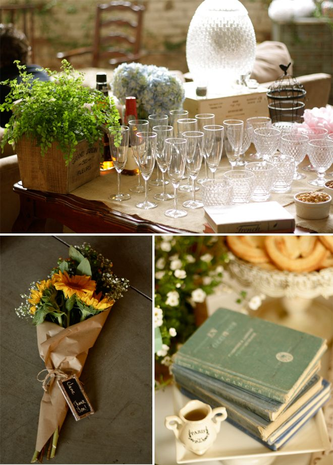 Darling French Market Baby Shower! | Pizzazzerie