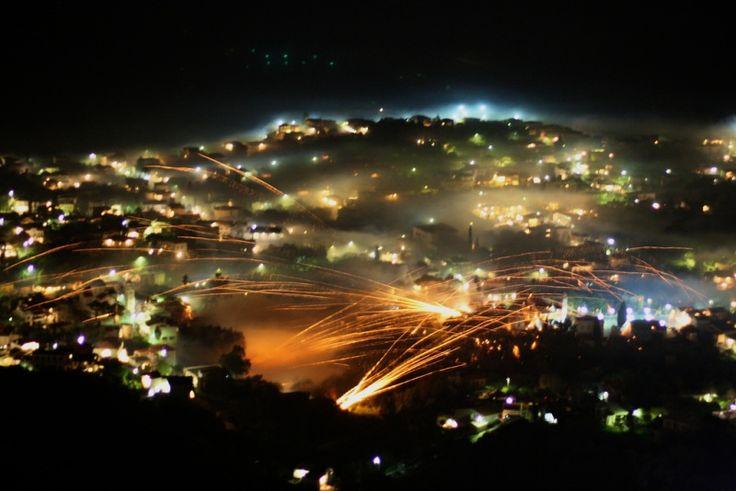 #Easter Rocket Wars in #Chios #Greece