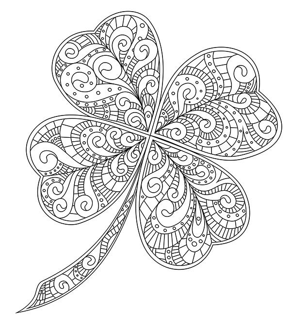 20+ FREE Printable St. Patrick's Day Coloring Pages