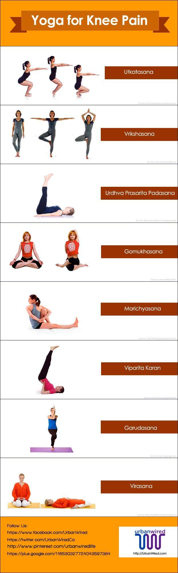 Yoga for Knee Pain – Asanas that Work   Knee Pain Exercises