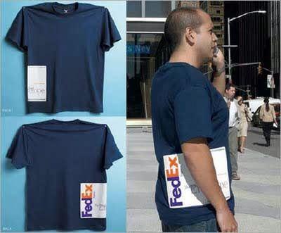 FedEx Illusion Creative T-Shirt Design