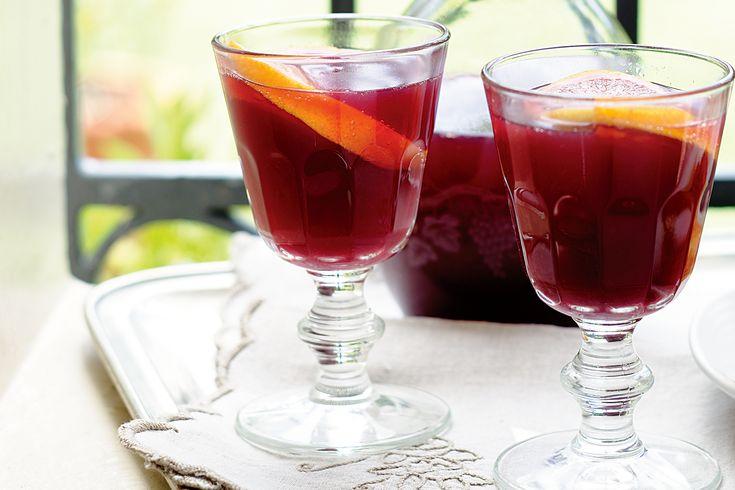 Sparkling Shiraz Sangria Recipe - Taste.com.au